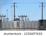 Battery Storage At Solar Farm...