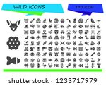 vector icons pack of 120 filled ... | Shutterstock .eps vector #1233717979