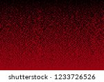 banner red sequins background.... | Shutterstock .eps vector #1233726526