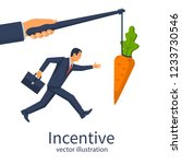 incentive concept. business... | Shutterstock .eps vector #1233730546
