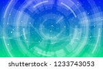 abstract concept   technology... | Shutterstock .eps vector #1233743053