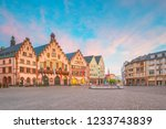 frankfurt old town square... | Shutterstock . vector #1233743839