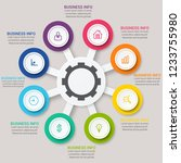 modern infographic choice...   Shutterstock .eps vector #1233755980
