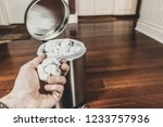 household trash and garbage... | Shutterstock . vector #1233757936