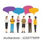 vector illustration  flat style ... | Shutterstock .eps vector #1233775099