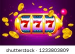spin and win slot machine with... | Shutterstock .eps vector #1233803809