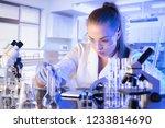 science concept background.  | Shutterstock . vector #1233814690