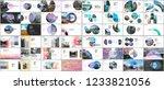 minimal presentations design ... | Shutterstock .eps vector #1233821056