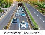 smart car  hud    autonomous... | Shutterstock . vector #1233834556