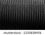 closeup detail of the steel... | Shutterstock . vector #1233838456