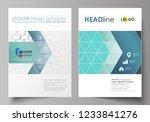 business templates for brochure ... | Shutterstock .eps vector #1233841276