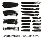 calligraphy paint brush... | Shutterstock .eps vector #1233845293