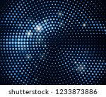 abstract black background with... | Shutterstock .eps vector #1233873886
