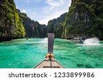 ko phi phi le island lagoon in... | Shutterstock . vector #1233899986