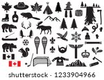Canada Vector Icons Set  Maple...