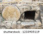 A Typical Ancient Rock Hewn...