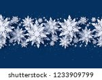 merry christmas and happy new... | Shutterstock .eps vector #1233909799