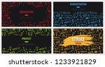 demonstration  manifestation ... | Shutterstock .eps vector #1233921829