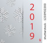 new year background with... | Shutterstock .eps vector #1233932203