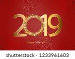 vector illustration of happy...   Shutterstock .eps vector #1233961603