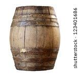 Image Of Classic Wood Barrel O...