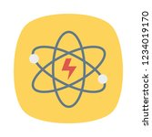 atom  power.  energy.  | Shutterstock .eps vector #1234019170