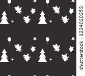 vector flat background. new...   Shutterstock .eps vector #1234020253