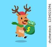 vector cartoon christmas...   Shutterstock .eps vector #1234021096