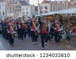 gouda  the netherlands  ... | Shutterstock . vector #1234033810