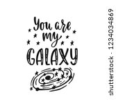 inspirational vector lettering... | Shutterstock .eps vector #1234034869
