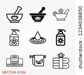 aromatherapy icon  accessory... | Shutterstock .eps vector #1234038850