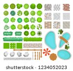 vector illustration set of... | Shutterstock .eps vector #1234052023