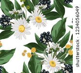 vector seamless pattern with... | Shutterstock .eps vector #1234056049