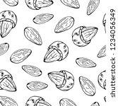 pattern of vector illustrations ... | Shutterstock .eps vector #1234056349