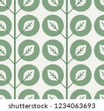 seamless pattern with abstract...   Shutterstock .eps vector #1234063693