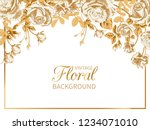 Vector Vintage Floral...