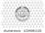 expired grey badge with... | Shutterstock .eps vector #1234081120