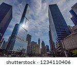 chicago  usa   july 18 2015 ... | Shutterstock . vector #1234110406