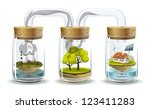 ecosystem. environmental... | Shutterstock .eps vector #123411283
