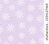 this is a winter seamless... | Shutterstock .eps vector #1234137463