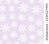 this is a winter seamless... | Shutterstock .eps vector #1234137493