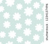 this is a winter seamless... | Shutterstock .eps vector #1234137496