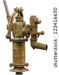 Old Rusty Water Pump Manual...