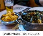 traditional belgian food ... | Shutterstock . vector #1234170616