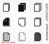 copy vector icon. duplicate app ...