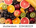 assorted fresh fruits | Shutterstock . vector #1234182229