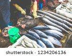 street vendor in cat ba island  ... | Shutterstock . vector #1234206136
