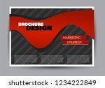 flyer  brochure  billboard... | Shutterstock .eps vector #1234222849