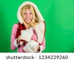 woman emotional face posing in... | Shutterstock . vector #1234229260