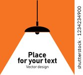 modern interior.vector isolated ... | Shutterstock .eps vector #1234234900